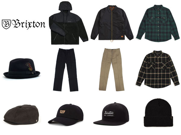 BRIXTON 再入荷!!!の画像