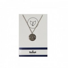 "Deviluse ネックレス ""COIN NECKLACE"" (Silver)"