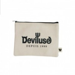 "Deviluse ポーチ ""LOGO PORCH"" (Natural)"