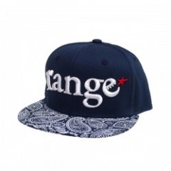 "range ""RG COMBINATION SNAP BACK CAP"" (Navy/Paisley"