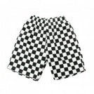 "COOKMAN ショーツ ""CHEF SHORT PANTS"" (Checker / Black)"