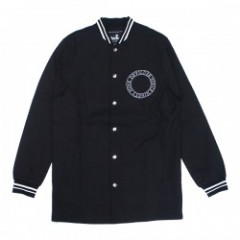 "Deviluse ジャケット ""LONG STADIUM JKT"" (Black)"