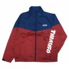"THRASHER ジャケット ""MAG STAND FULL ZIP JACKET"" (Navy/Red)"