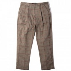 "Deviluse パンツ ""CHECK PANTS"" (Brown)"