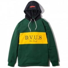 "Deviluse ラガーフーディー ""RUGGER HOODED"" (Green)"
