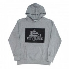 "Deviluse パーカ ""STYX PULLOVER HOODED"" (Gray)"