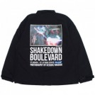 "RADIALL コーチジャケット ""BOULEVARD WINDBREAKER JACKET"" (Black)"