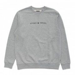 "AFENDS クルースウェット ""SINCE 2006 CREW SWEAT"" (Grey Marle)"
