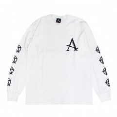"AFFECTER L/STシャツ ""BEFORE L/S TEE"" (White)"