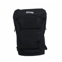 "THRASHER リュック ""BACKPACK THRCD-504"" (Black)"