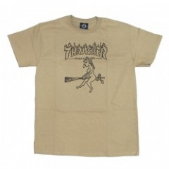 "THRASHER Tシャツ ""WITCH S/S TEE"" (Tan)"