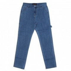 "Deviluse パンツ ""CARPENTER DENIM WASH PANTS"" (Indigo)"