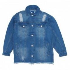 "Deviluse ジャケット ""DAMAGE DENIM JKT"" (Indigo)"