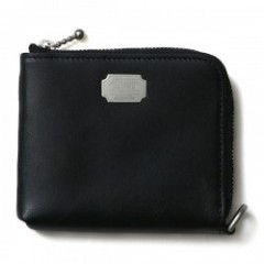 "CRIMIE ウォレット ""LEATHER MULTI WALLET"" (Black)"