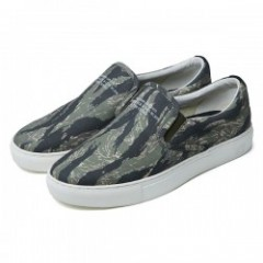 "★30%OFF★ CRIMIE ""MILITARY TIGER CAMO SLIPON SNEAKER"" (Khaki"