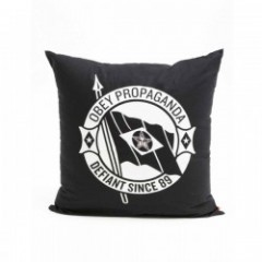 "OBEY クッション ""DEFIANT PILLOW"" (Black)"