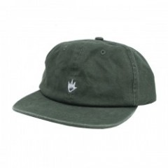 "AFENDS キャップ ""FLAME SOFT BRIM 6 PANEL CAP"" D.Olive"