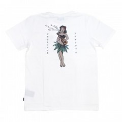 "AFENDS Tシャツ ""TROPICAL TOKERS TEE"" (Natural)"