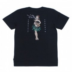 "AFENDS Tシャツ ""TROPICAL TOKERS TEE"" (Black)"