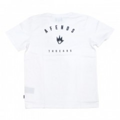 "AFENDS Tシャツ ""THREADS TEE"" (White)"