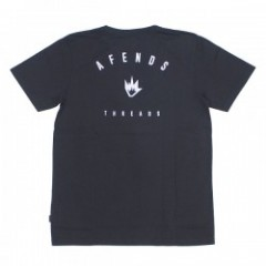 "AFENDS Tシャツ ""THREADS TEE"" (Faded Black)"