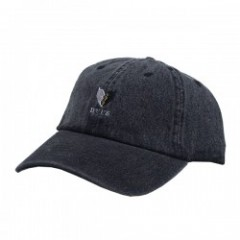 "Deviluse キャップ ""HEARTACHES CAP"" (Black Denim)"