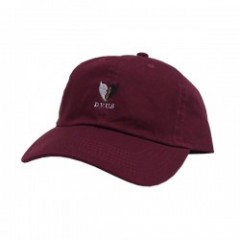 "Deviluse キャップ ""HEARTACHES CAP"" (Burgundy)"