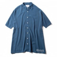 "Deviluse S/Sシャツ ""WIDE S/S SHIRTS"" (Navy)"