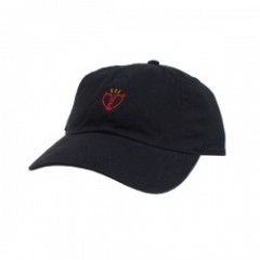 "Deviluse キャップ ""FLASH HEART CAP"" (Black)"