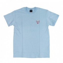 "Deviluse Tシャツ ""FLASH HEART TEE"" (Sky Blue)"