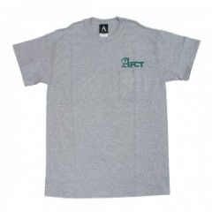 "AFFECTER ポケットTシャツ ""AFCT PK TEE"" (Heather Gray)"