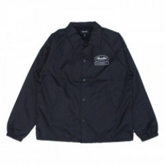 "BRIXTON コーチジャケット ""DALE JACKET"" (Black/White)"