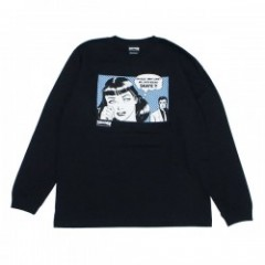 "THRASHER L/STシャツ ""BOYFRIEND L/STEE"" (Black/Horizon)"