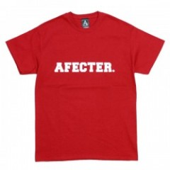 "AFFECTER Tシャツ ""CLG LOGO TEE"" (Red)"