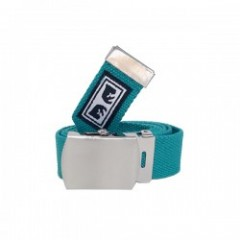"OBEY ベルト ""BIG BOY WEB BELT"" (Teal)"