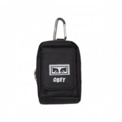 "OBEY ミニポーチ ""DROP OUT UTILITY SMALL BAG"" (Black)"