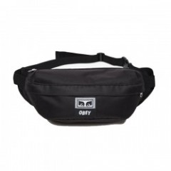 "OBEY ウエストポーチ ""DROP OUT SLING PACK"" (Black)"