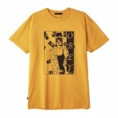 "★30%OFF★ OBEY Tシャツ ""SURROUNDED PIGMENT TEE"" (Dusty Baked Yellow)"