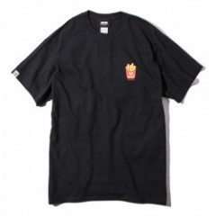 "Deviluse Tシャツ ""FRIES TEE"" (Black)"