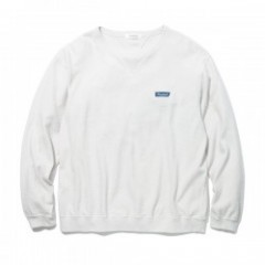 "★30%OFF★ RADIALL ""LADE BACK CREW NACK SWEATSHIRT L/S"" S.Wht"