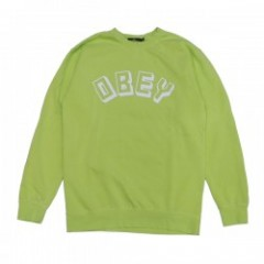 "OBEY クルースウェット ""OBEY NEW WORLD CREW SWEAT"" (D.Mint)"