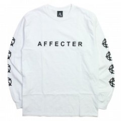 "AFFECTER L/STシャツ ""CLASSIC BEFORE L/S TEE"" (White)"