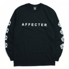 "AFFECTER L/STシャツ ""CLASSIC BEFORE L/S TEE"" (Black)"