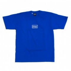 "OBEY Tシャツ ""OBEY TYPEWRITTER HEAVY TEE"" (Royal Blue"