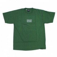 "OBEY Tシャツ ""OBEY TYPEWRITTER HEAVY TEE"" (V.Green)"