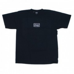 "OBEY Tシャツ ""OBEY TYPEWRITTER HEAVY TEE"" (Black)"