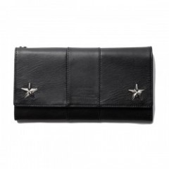 "CRIMIE 財布 ""PAUL STAR WALLET"" (Black)"