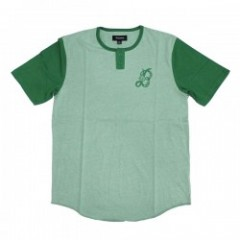 "★30%OFF★BRIXTON ""MAJOR S/S HENLEY TEE""HeatherGreen"