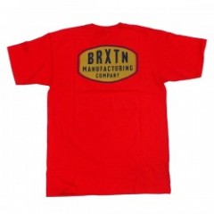 "★30%OFF★ BRIXTON Tシャツ ""PACER TEE"" (Red)"