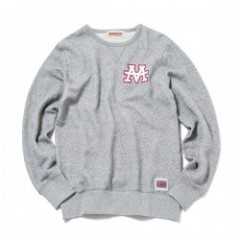"ANIMALIA クルースウェット ""AMA CLUB-SWEAT SHIRTS"" (Gray)"